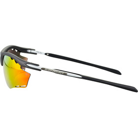 Rudy Project Rydon Okulary rowerowe, matte black/multilaser orange